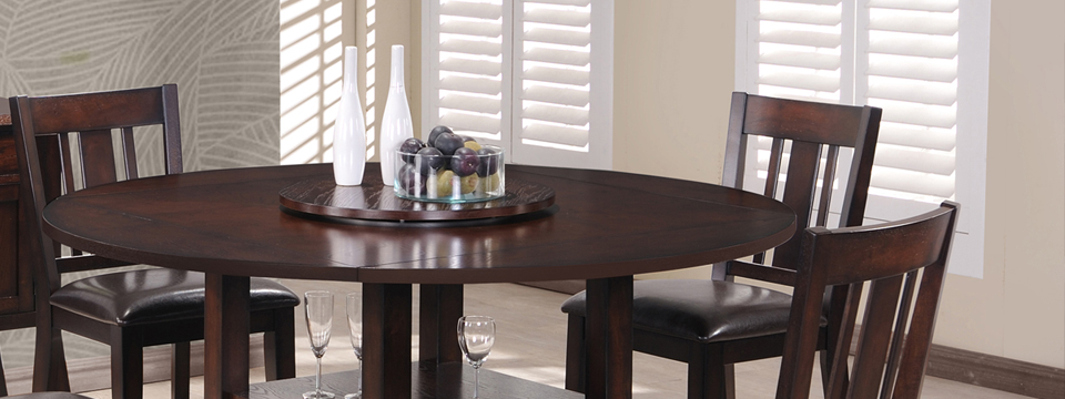 Elegant Wood Dining Set